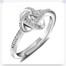 Joyería cristalina joyería de la plata esterlina del anillo 925 de la manera (CR0059)