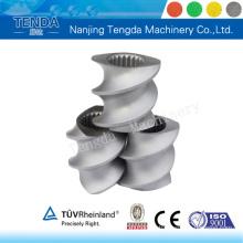 Componente de extrusora procesada con precisión para máquina de plástico Tenda