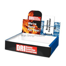 Carton display packaging box for promotional products