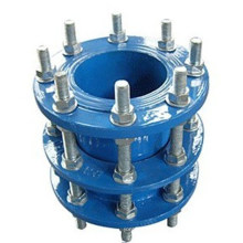 Corpo de ferro Ductilie com parafusos de galvanização desmantelamento de juntas