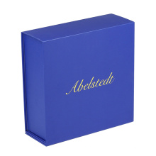 Custom Logo Printed Foldable Cardboard Flat Pack Shirt Box Luxury Rigid Collapsible Paper Magnetic Gift Box with Magnet Closure