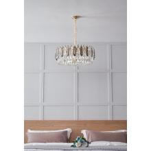 Éclairage décoratif intérieur classique moderne en cristal Chaddelier