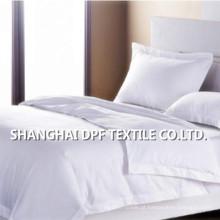 100% algodão branco liso conjunto de cama (DPF201609)