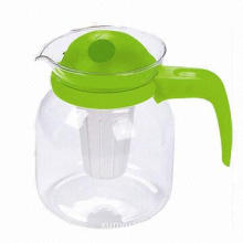 1,200mL Glass water jug, plastic filter, microwave is available