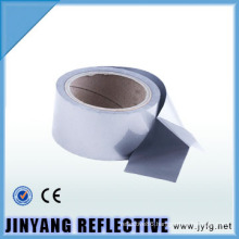 hi vis silver activated adhesive heat transfer film reflective tape