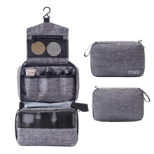 Waterproof Travel Organizer Cosmetic Bag Hanging Hook Travel Toiletry Bag with Customized Color