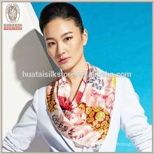 Cool Sea Wave Wholesale 100 Pure Silk Scarves