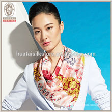 Cool Sea Wave Wholesale 100 foulards en soie pure