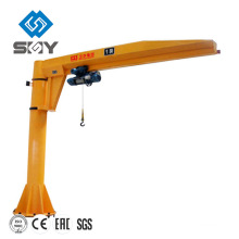 Pillar standing floor mounted Cantilever lift arm crane