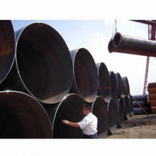 SSAW DSAW Spiral Pipe Pile with 3 to 20m Length