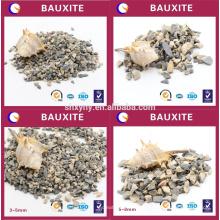 1-3 mm 85% de areia de bauxita de pureza Al2O3 para indústria refractária