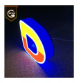 Outdoor Illuminated Front Light Acrylic Sign  Letters
