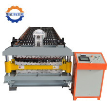 Color Coated Steel Double Roofing Rolll Forming Machine