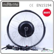 MOTORLIFE / OEM 2015 VENDA QUENTE 48 v 1000 w kit para preços de bicicleta elétrica