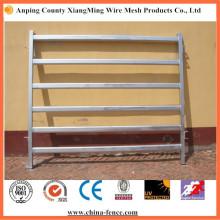 Galvanized Steel 6 Bars Cattle Yard Panel
