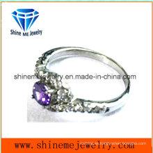 Joyería del anillo del encanto del acero inoxidable de la manera y de la venta caliente