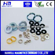 Большие неодимовые кольцевые магниты