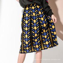 Faldas de diseño de una línea de moda para niñas con parte inferior de vestir