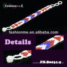 2014 FASHIONME popular abalorios pulseras