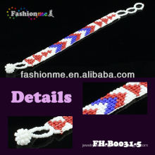 FASHIONME 2014 popular beaded bracelets