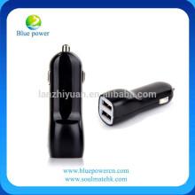 Chargeur de voiture 2.1A Chargeur de voiture à double port Rapid USB Chargeur de cigarette pour iPhone iPad Air 2 Samsung Galaxy S6 / S6 Edge