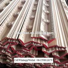 CNC madeira escultura coroa teto cornice moldagem