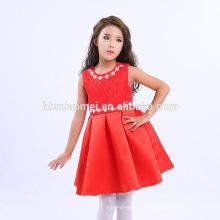 7-10 Ans, 2-6 Ans Âge Et Moyen Style De Longueur Pari Dress Pour Bébé Fille
