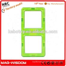 Plastic Magnetic Long Square Blocks
