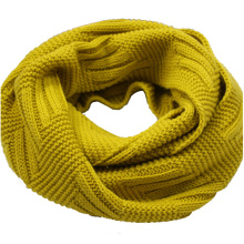 Womens Mens Unisex Neck Warmer Thick Cashmere Feel Winter Knitted Loop Scarf Snood (SK131)