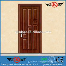 JK-P9053	swing finished pvc/mdf bathroom door manufacturer pvc film bathroom cabinet door