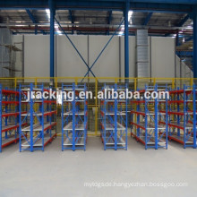 Jracking mental adjustable storage Q345 industrial supermarket bread display rack