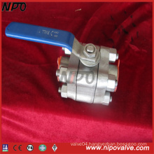3-PCS Stainless Steel Threaded Ball Valve