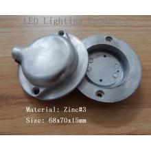 Cubierta de la lámpara de aleación de zinc Die Casting Products
