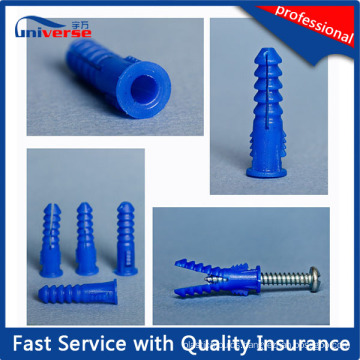 Injection Plastic Expansion Wall Plug Screw Anchor Mould