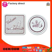 """Diameter 4 """"Coasters Набор из 2 дизайнов различных цветов Кубок Мат Pad"""