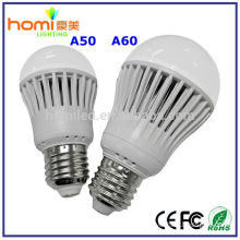 superbright plastic bulbs b22 led lamp bulb 5w 220v with plastic shell ce,rohs approved