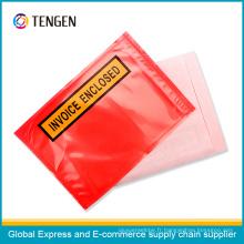 Enveloppe de liste d'emballage auto-adhésive réutilisable