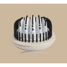 Redressage des cheveux naturels avec brosse ronde