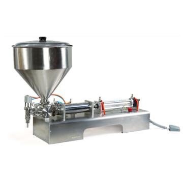 Venta caliente de alta precisión solo cabezal máquina de llenado de pasta 100-1000ml