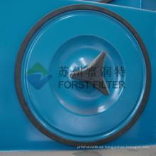 FORST El mejor sistema industrial del colector del polvo de la cubierta del filtro de aire de la venta