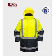chaqueta de trabajo de seguridad reflexiva de alta visibilidad chaqueta de seguridad de alta resistencia chaqueta de seguridad