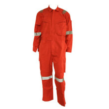 Top for Coverall With Metal Buckle Reflective welder one piece fireproof overall export to Guinea-Bissau Suppliers
