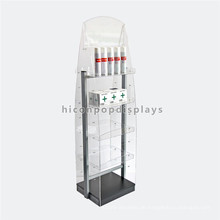 Custom Free Standing Werbung Display für Apotheke, Acryl Community Apotheke Display Regale