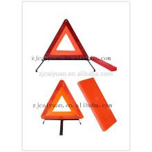 CY réflecteur sécurité Triangle sécurité voiture signe d'avertissement réfléchissantes reflétant en gros