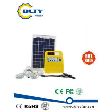 10W Portable Solar Lighting Kit