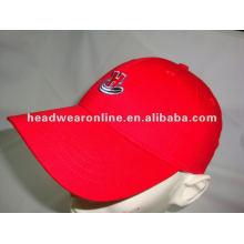 Boné de beisebol quente da venda boné de beisebol feito sob encomenda do logotipo do bordado boné de beisebol da boa qualidade