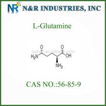 L-Glutamina en polvo CAS NO.:56-85-9 grado alimenticio