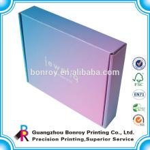 fabricante de empaquetado de caja personalizado corrugado de papel