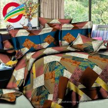 china in modern making printing fabric bed sheet sets