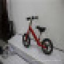 Buena bicicleta de bebé bicicleta sin pedales Balance Bike bicicleta